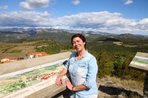 France à la table d'orientation Trilla