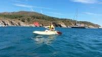 J'ai découvert le kayak dans la baie de Paulilles