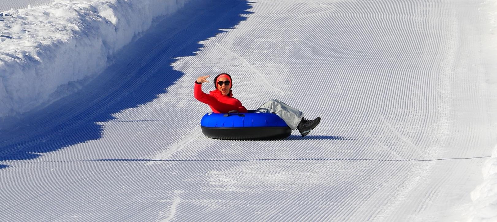 Le snowtubing, un max de sensations !