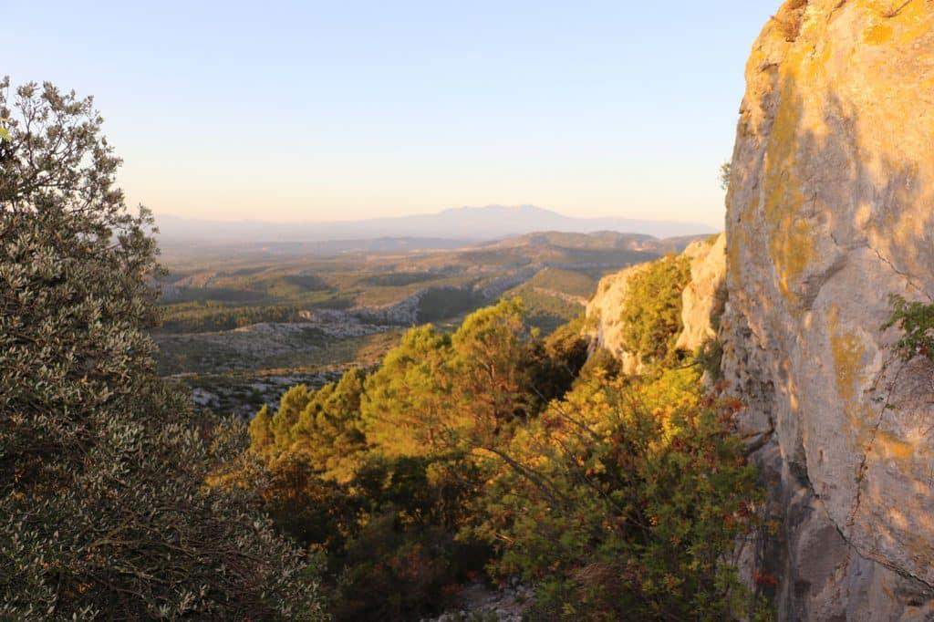 Point de vue depuis le château