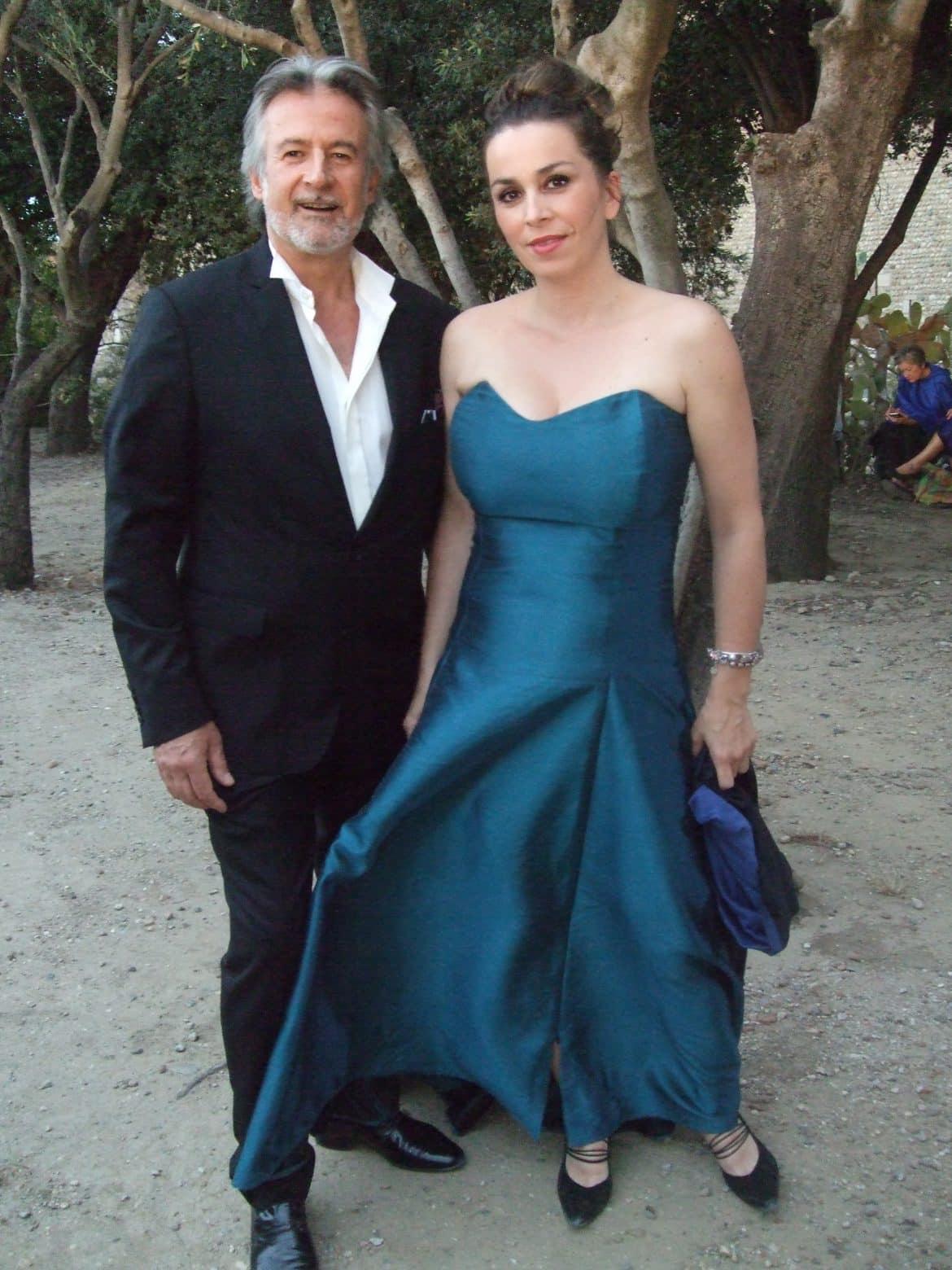 Christian Papis et Sabine Riva