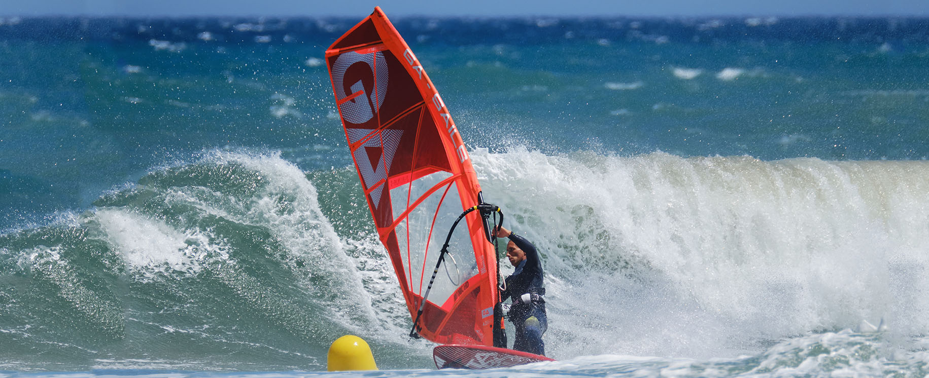 Hawaï à Canet en Roussillon, une session windsurf d'exception