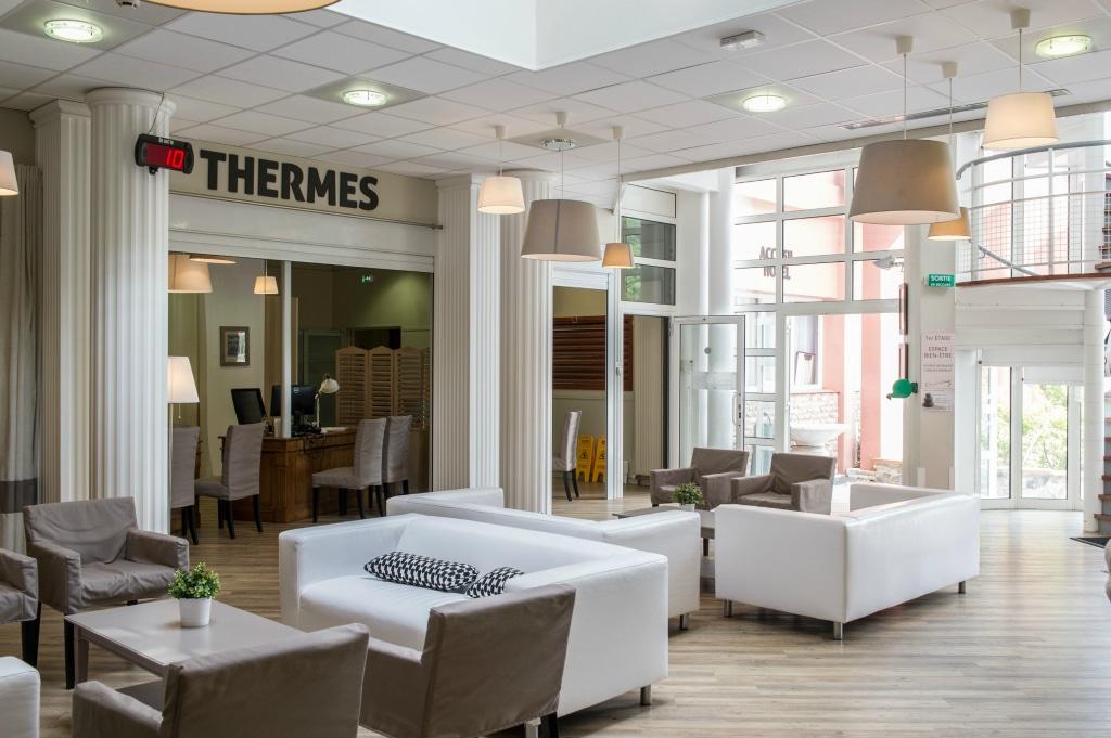 Hall d'accueil des thermes de Vernet-les-Bains, Journée Bien-Etre