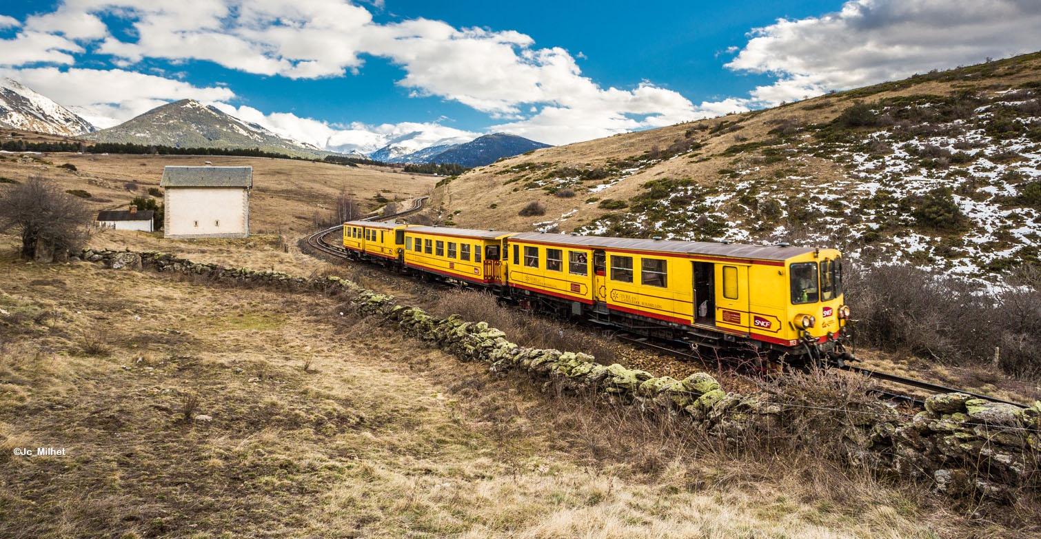 Le Train Jaune : fierté des Pyrénées catalanes