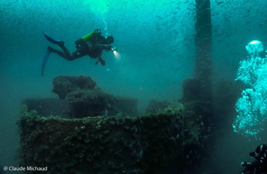 Plongée au large de Saint-Cyprien