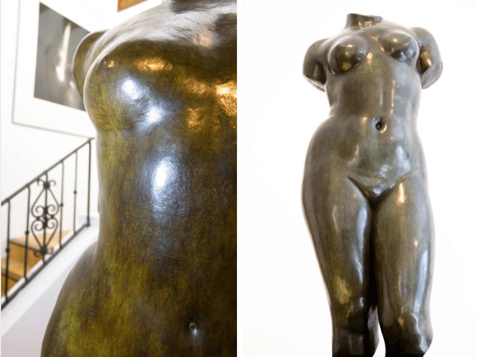 Statues musée maillol jan 2016