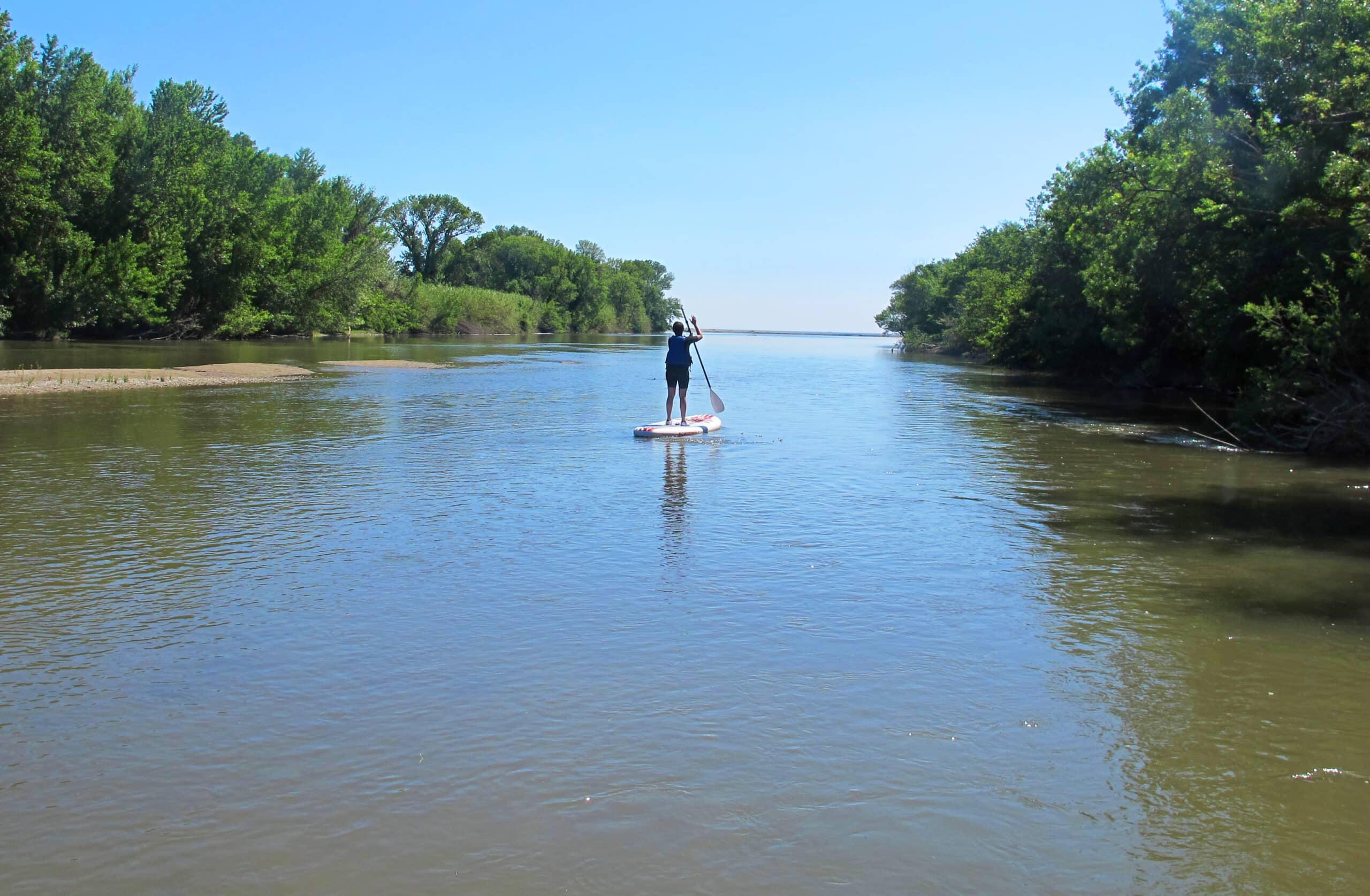"""Stand Up Paddle en rivière : du """"Tech"""" à la Méditerranée"""