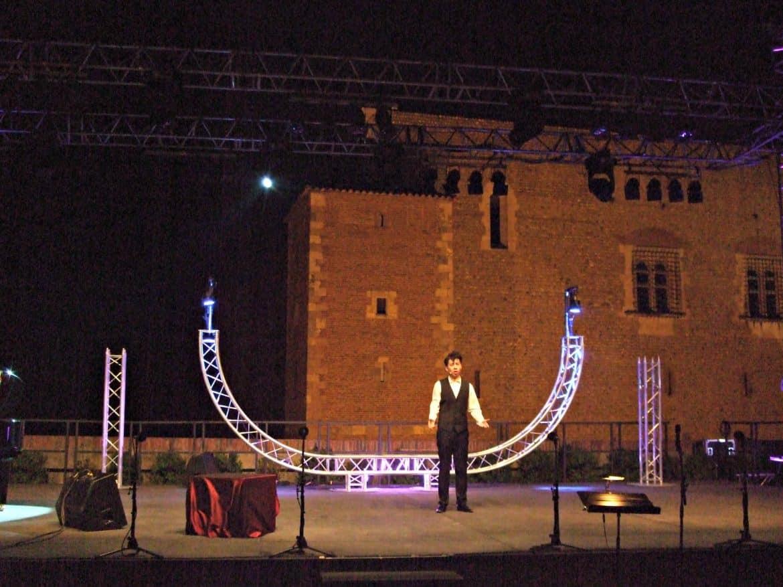Scène Spectacle Grands Airs d'Opéra - Nuit enchantée au Palais